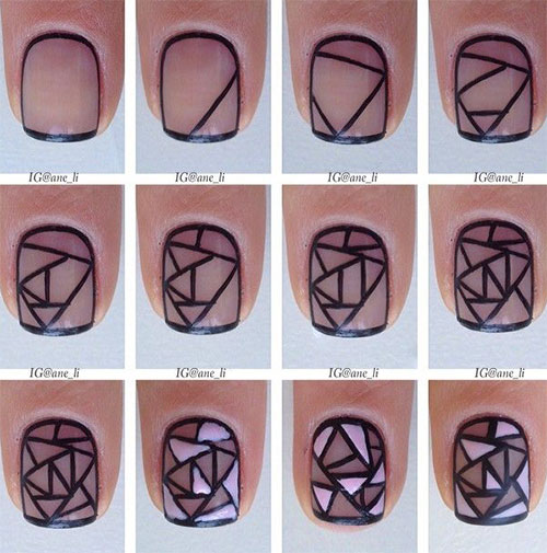 15-Easy-Step-By-Step-New-Nail-Art-Tutorials-For-Beginners-Learners-2014-15