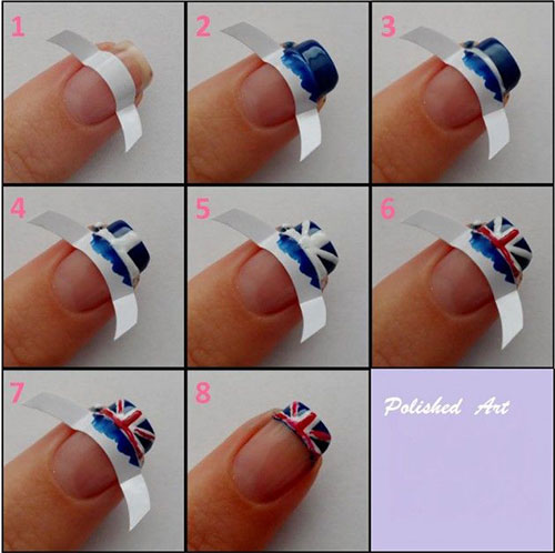 15-Easy-Step-By-Step-New-Nail-Art-Tutorials-For-Beginners-Learners-2014-16