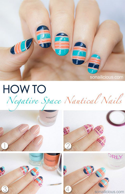 15-Easy-Step-By-Step-New-Nail-Art-Tutorials-For-Beginners-Learners-2014-4