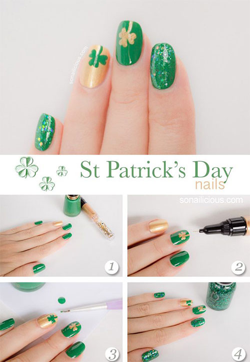 15 + Easy & Step By Step New Nail Art Tutorials For Beginners ...