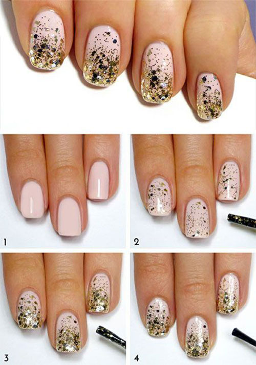 15 Easy Step By Step New Nail Art Tutorials For Beginners Learners 2014 Fabulous Nail