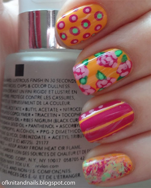 15-New-Nail-Art-Designs-Ideas-Trends-Stickers-2014-For-Girls-5