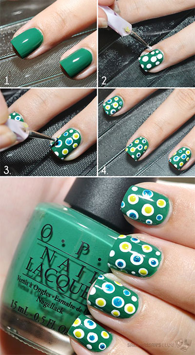 15-Pretty-Nail-Art-Tutorials-For-Beginners-Learners-2014-10