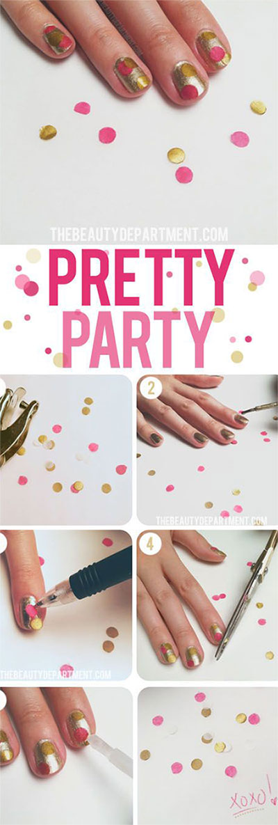 15-Pretty-Nail-Art-Tutorials-For-Beginners-Learners-2014-11