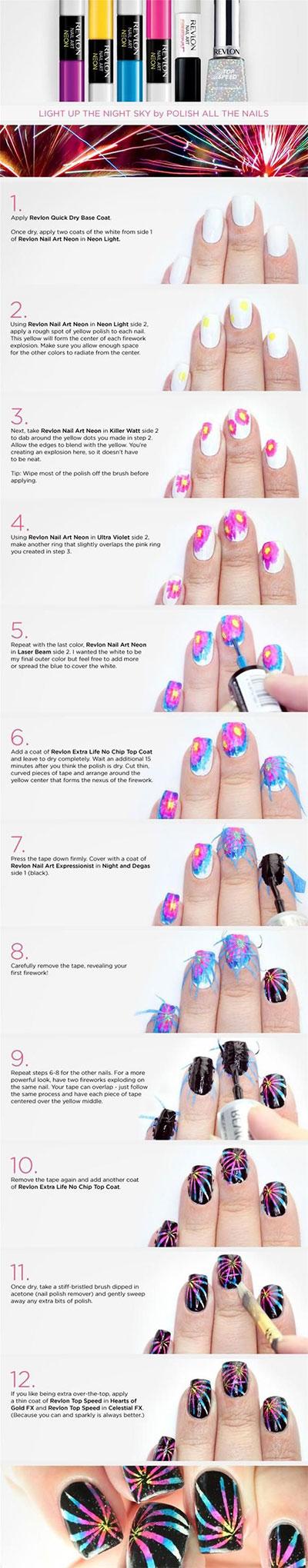 15-Pretty-Nail-Art-Tutorials-For-Beginners-Learners-2014-13