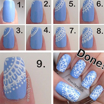 15-Pretty-Nail-Art-Tutorials-For-Beginners-Learners-2014-2