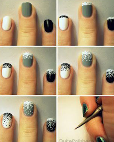 15-Pretty-Nail-Art-Tutorials-For-Beginners-Learners-2014-5