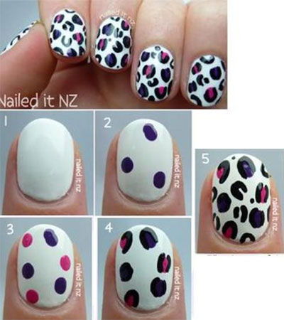 15-Pretty-Nail-Art-Tutorials-For-Beginners-Learners-2014-6