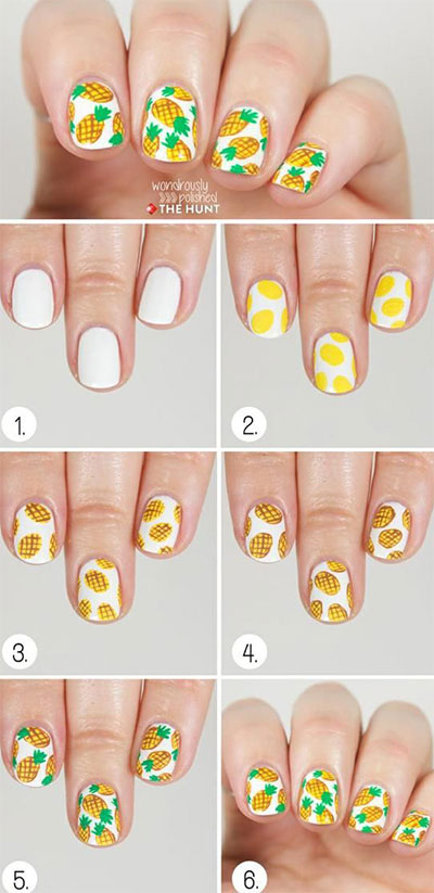 15-Pretty-Nail-Art-Tutorials-For-Beginners-Learners-2014-9