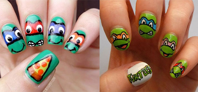 20 teenage mutant ninja turtles nail art designs ideas stickers 20 teenage mutant ninja turtles nail art designs ideas stickers 2014 tmnt nails fabulous nail art designs prinsesfo Gallery