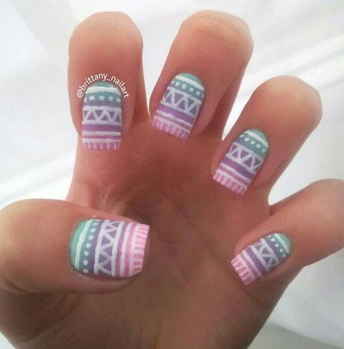 Pretty Nail Art Designs: 30 + Pretty Nail Art Designs, Ideas, Trends & Stickers