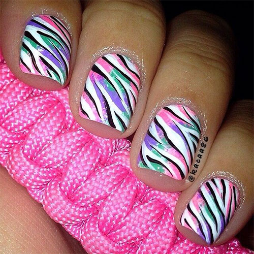 Nail art designs ideas trends stickers 2014 30 30 pretty nail art