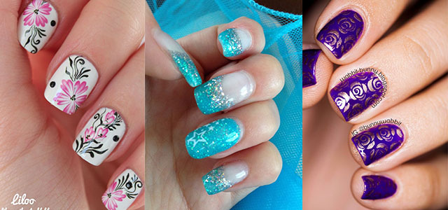 30 Pretty Nail Art Designs Ideas Trends Stickers 2014