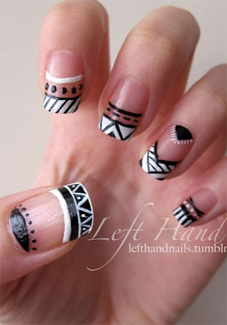 Latest-New-Nail-Art-Designs-Ideas-Trends-Stickers-2014-For-Girls-3