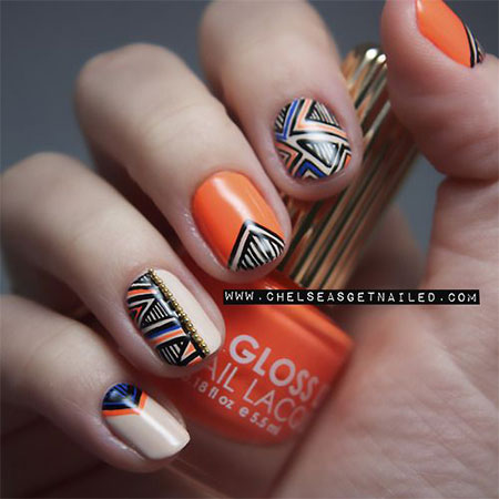 Latest-New-Nail-Art-Designs-Ideas-Trends-Stickers-2014-For-Girls-6