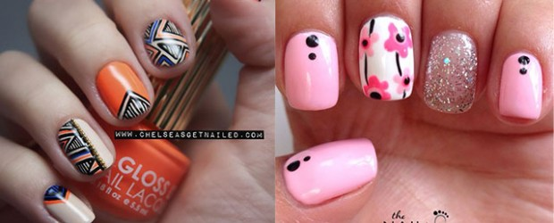 Latest-New-Nail-Art-Designs-Ideas-Trends-Stickers-2014-For-Girls