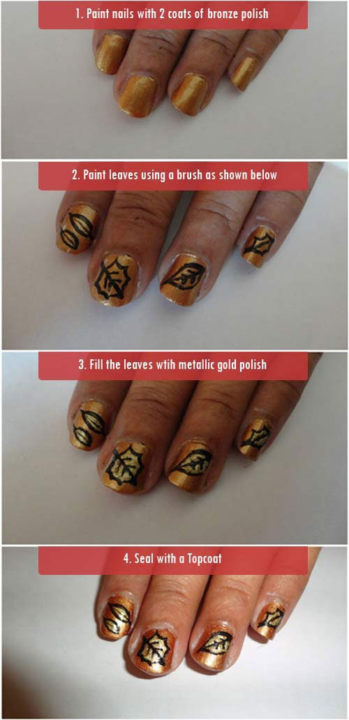Step-By-Step-Autumn-Nail-Art-Tutorials-For-Beginners-Learners-2014-2