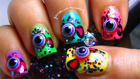 10-Halloween-3d-Nail-Art-Designs-Ideas-Trends-Stickers-2014-7