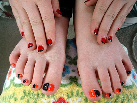 10 unique halloween toe nail art designs ideas trends stickers 10 unique halloween toe nail art designs ideas prinsesfo Image collections