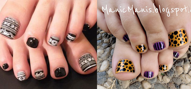 10 Unique Halloween Toe Nail Art Designs, Ideas, Trends & Stickers 2014 |  Fabulous Nail Art Designs