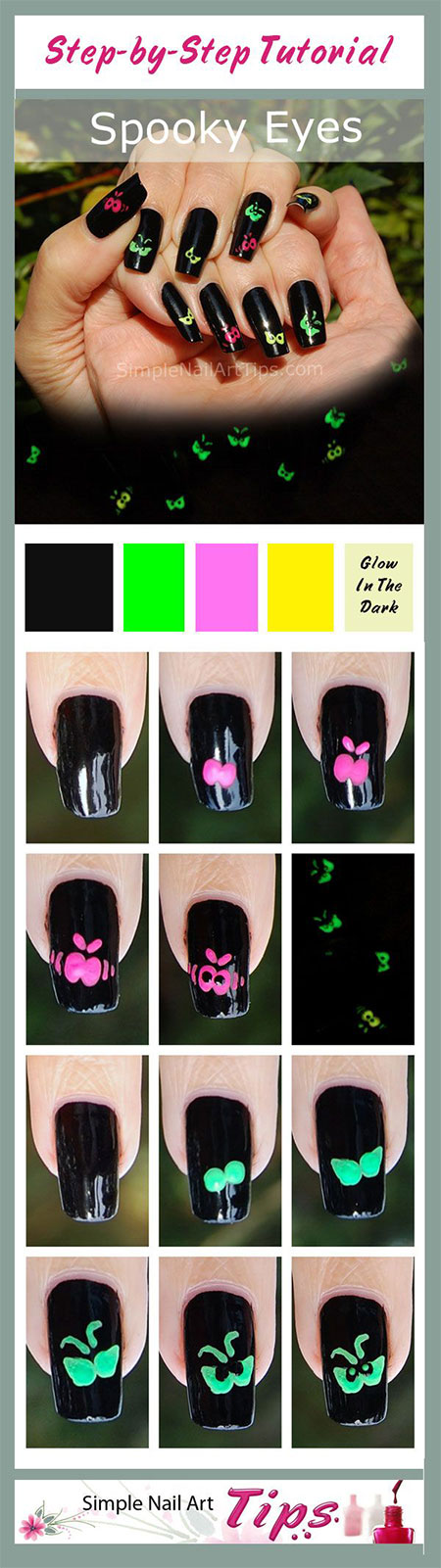 12-Easy-Step-By-Step-Halloween-Nail-Art-Tutorials-For-Beginners-Learners-2014-12