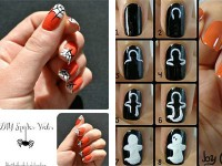 12-Easy-Step-By-Step-Halloween-Nail-Art-Tutorials-For-Beginners-Learners-2014-F