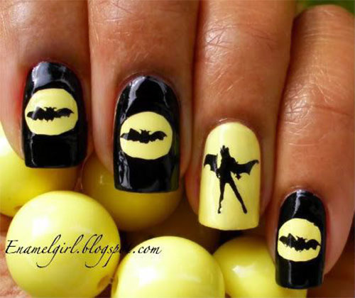 12-Halloween-Bat-Nail-Art-Designs-Ideas-Trends-Stickers-2014-11