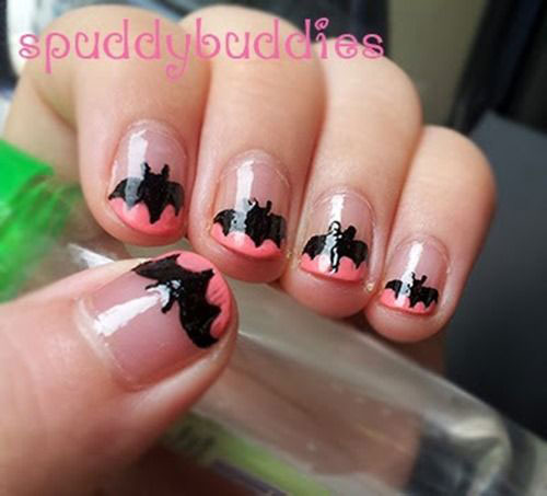 12-Halloween-Bat-Nail-Art-Designs-Ideas-Trends-Stickers-2014-3