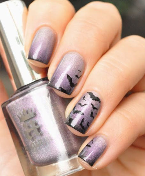 12-Halloween-Bat-Nail-Art-Designs-Ideas-Trends-Stickers-2014-4
