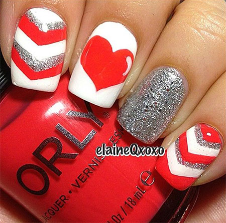 Best Red Nail Art Design