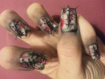 15-Creepy-Halloween-Zombie-Nail-Art-Designs-Ideas-Trends-Stickers-2014-13