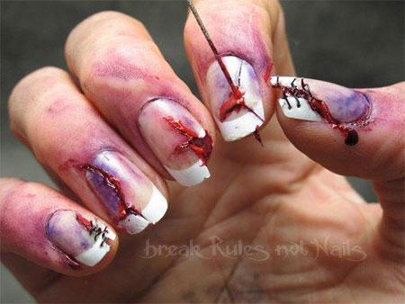 15-Creepy-Halloween-Zombie-Nail-Art-Designs-Ideas-Trends-Stickers-2014-9