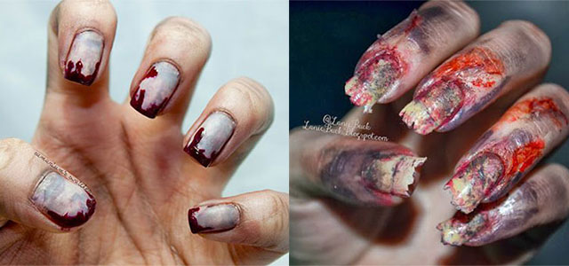 15-Creepy-Halloween-Zombie-Nail-Art-Designs-Ideas-Trends-Stickers-2014