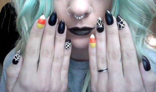 15-Halloween-Candy-Corn-Nail-Art-Designs-Ideas-Trends-Stickers-2014-16