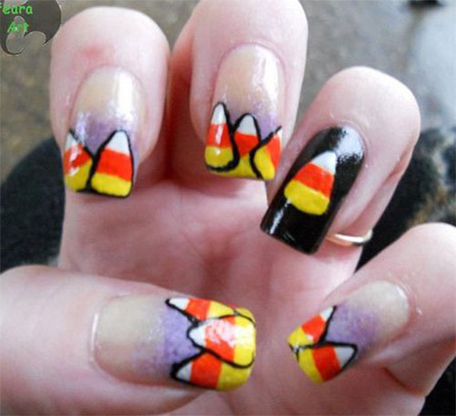 15-Halloween-Candy-Corn-Nail-Art-Designs-Ideas-Trends-Stickers-2014-8