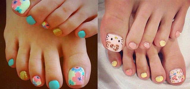 15 New Toe Nail Art Designs Ideas Trends Stickers 2014