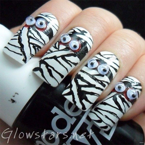 15-Scary-Halloween-Mummy-Nail-Art-Designs-Ideas-Trends-Stickers-2014-1