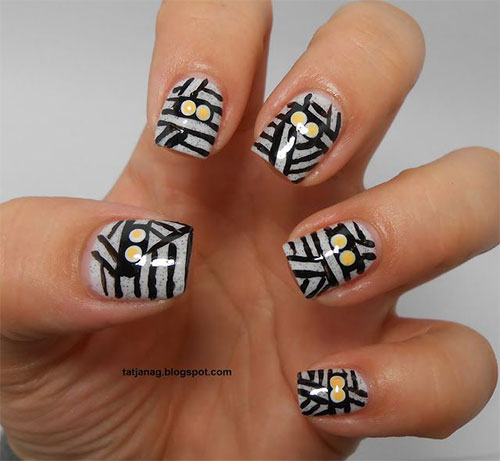 15-Scary-Halloween-Mummy-Nail-Art-Designs-Ideas-Trends-Stickers-2014-15