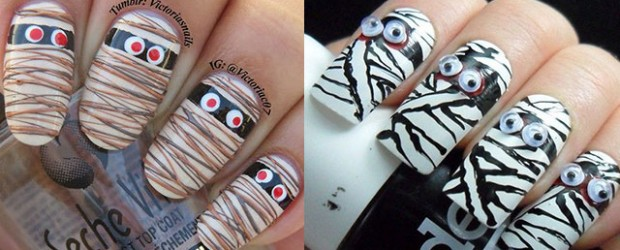 15-Scary-Halloween-Mummy-Nail-Art-Designs-Ideas-Trends-Stickers-2014