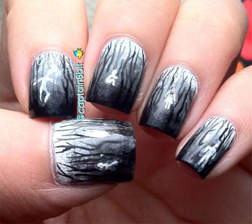 18-Halloween-Ghost-Nail-Art-Designs-Ideas-Trends- - 18 Halloween Ghost Nail Art Designs, Ideas, Trends & Stickers 2014