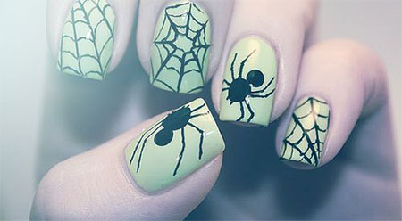 18-Halloween-Spider-Web-Nail-Art-Designs-Ideas-Trends-Stickers-2014-10