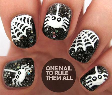18-Halloween-Spider-Web-Nail-Art-Designs-Ideas-Trends-Stickers-2014-12