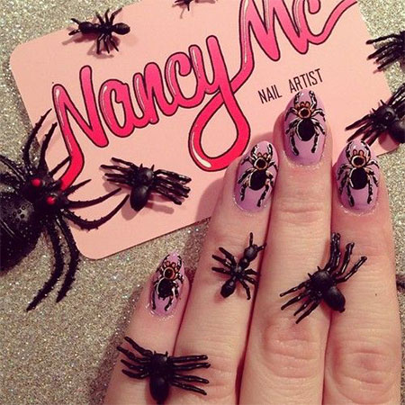 18-Halloween-Spider-Web-Nail-Art-Designs-Ideas-Trends-Stickers-2014-17