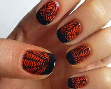18 halloween spider web nail art designs ideas trends stickers 18 halloween spider web nail art designs ideas prinsesfo Images