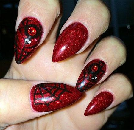 18-Halloween-Spider-Web-Nail-Art-Designs-Ideas-Trends-Stickers-2014-4