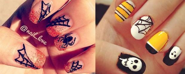 18-Halloween-Spider-Web-Nail-Art-Designs-Ideas-Trends-Stickers-2014