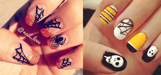 18-Halloween-Spider-Web-Nail-Art-Designs-Ideas-Trends-Stickers-2014