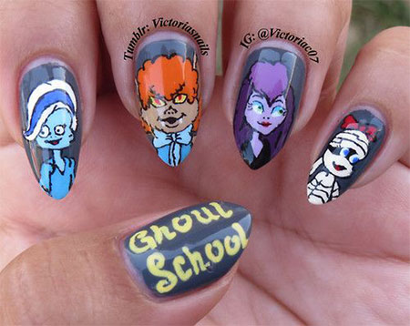 20-Halloween-Acrylic-Nail-Art-Designs-Ideas-Trends-Stickers-2014-12