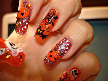 20-Halloween-Acrylic-Nail-Art-Designs-Ideas-Trends-Stickers-2014-13