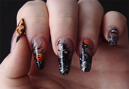 20-Halloween-Acrylic-Nail-Art-Designs-Ideas-Trends-Stickers-2014-17